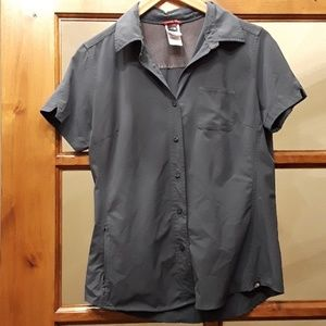 The north face hiking shirt